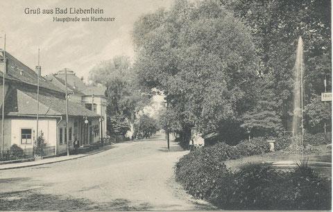 Ansichtskarte vor 1910 - Archiv W.Malek