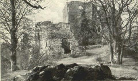 Ansichtskarte 1950 gelaufen