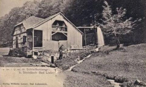 Obere Schleifkotte von David Malsch in Winterverkleidung Ansichtskarte vom Verlag Wilhelm Löser - Quelle Karsten Fink