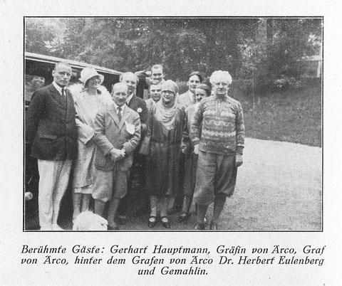 Aufnahme vor dem Kaiserhof - Archiv Volker Henning