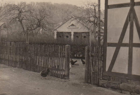 Motiv an der Kegelbahn Sammlung Kurt Schwarz