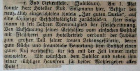 Stammgast 1931