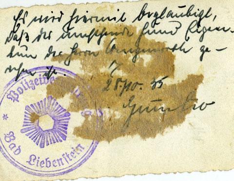 Archiv Horst Schneider
