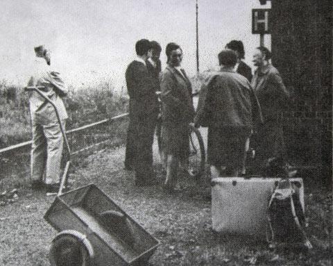 Typischer DDR-Schubwagen an der Haltestelle Marienthal/Meimers - genau dieses Modell ist heute noch beim Administrator im Einsatz