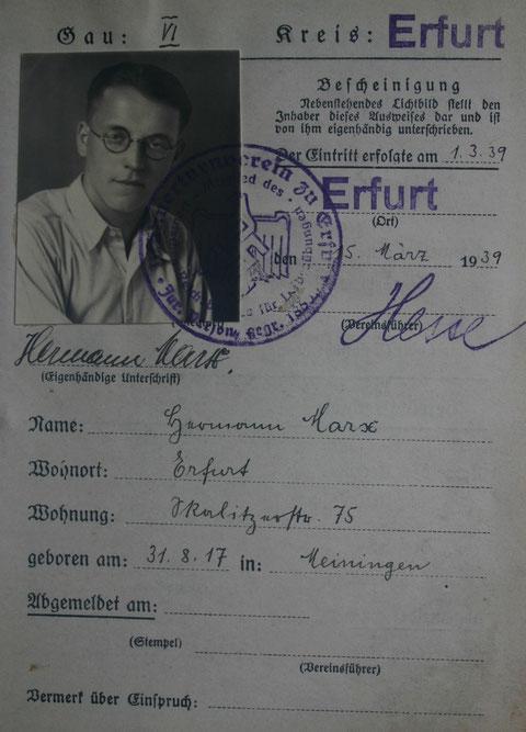 Deutscher Reichsbund für Leibesübungen - Sammlung Cornelia Rönsch