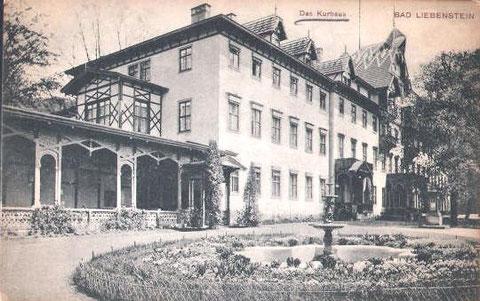 Kurhaus um 1900- Archiv W.Malek