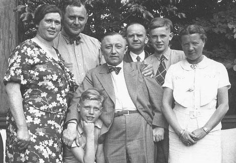 Familie Beutel zu Besuch in Offenbach bei Familie Lux