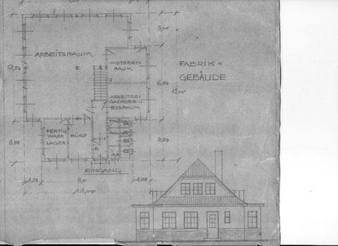 1941 sollte ein erweiterungsfähiger Neubau in Tiefenort errichtet werden.