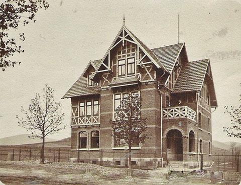 Kurz nach Baufertigstellung 1904 - Archiv Hartmut Luck / Werner Müller