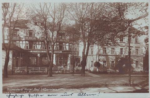 Aufnahme ca. 1927 - Quelle W. Malek