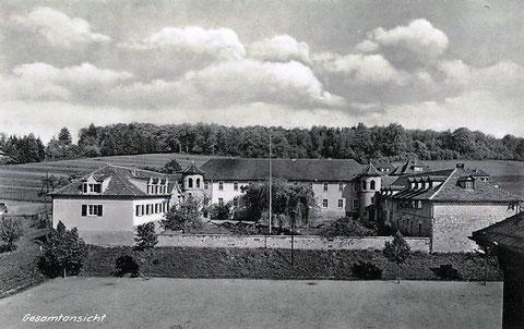 Agnesheim - Gesamtansicht der 1803 als Domäne erbauten  Anlage - Archiv W.Malek