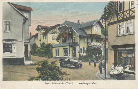 links Thüringer Hof - 1920er Jahre - Archiv A.Döhrer