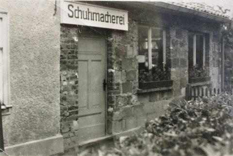 Werkstattanbau in den 1960gern