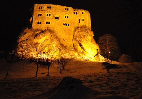 Burg im Winter 2015 Foto von Michael Pissarek