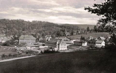 Neubau der Gebäude für das Heinrich-Mann-Sanatorium : Aufnahme um 1953 - Archiv W.Malek