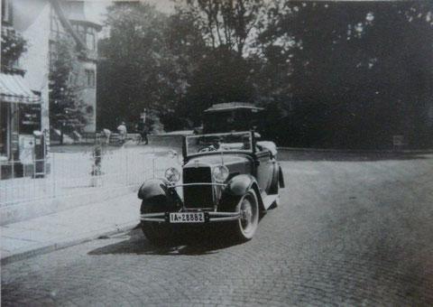Dr. Hartwig fährt 1929 nach Berlin