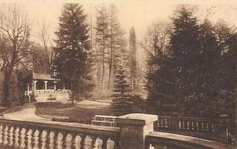 Parkszene im Sanatorium  Archiv W.Malek