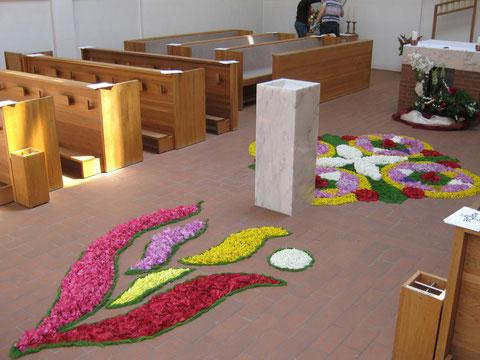 Blumenteppich 2010