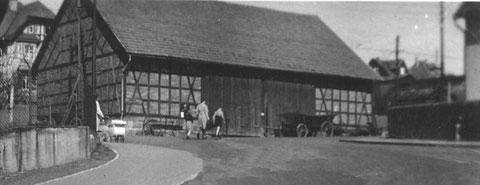 Scheune, heute Standort Zahnärzte Ruhmann