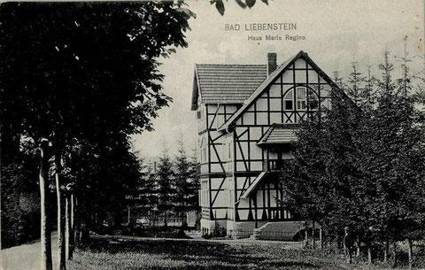 Haus Maria Regina gel. 30.07.1920 -  Verlag Wilhelm Löser