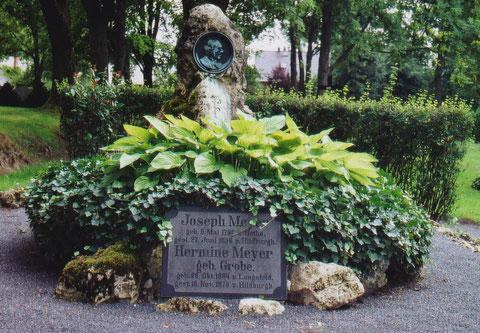 Grab Joseph Meyers in Hildburghausen - Archiv Theo Reum