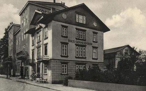 Um 1935, als die Sparkasse in den Meininger Hof einzog - Archiv W.Malek