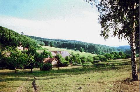 Außenanlagen der Grube Arminius in Atterode um 1950 bis 1955 - Quelle Steffen Ziegner