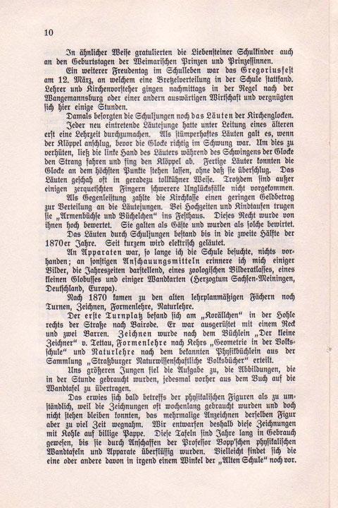 """Aus """"Damals"""" von E.Schwarz"""
