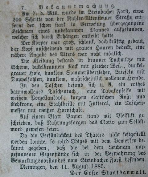 Sammlung W.Malek - Schenkung Jochen Beutel