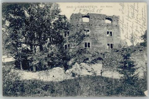 Aufnahme vor 1905