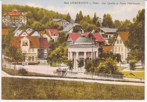 Links im Vordergrund steht Haus Müller, Sammlung W.Malek