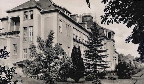 Augenheilanstalt Herzogin Charlotte - Leitender Arzt: Dr.med. W.Koch - Repro W.Malek