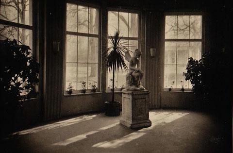 Rundzimmer Wandelhalle mit Blick zum Kurhaus 1920er - Quelle Gerda Obmann