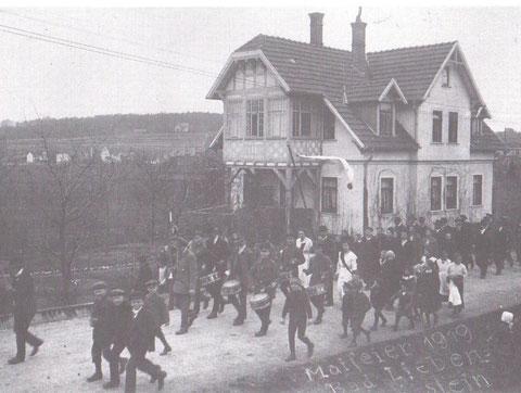 1.Mai 1919 - Aus Bad Liebenstein, wie es früher war