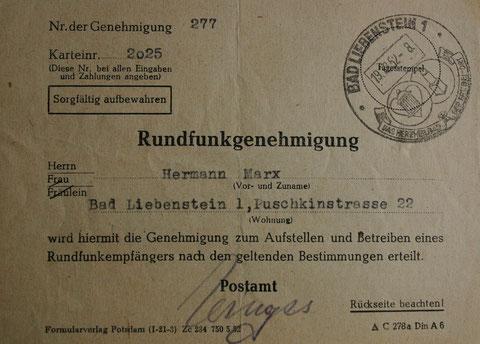 Tolles Zeitdokument von 1952 - Sammlung C.Rönsch