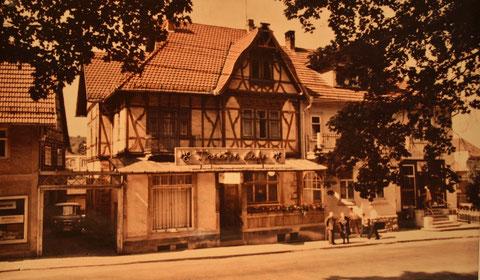HOG Theatercafe vor dem Umbau durch Hermann Marx - Archiv Cornelia Rönsch