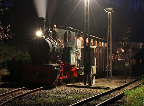 Kriegsdampflokomotive KDL 13 im November 2014