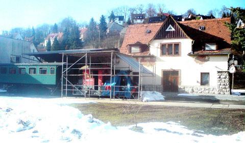 Bahnhof Steinbach März 2013