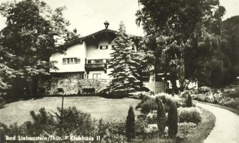Klubhaus II 1950 - Archiv W.Malek