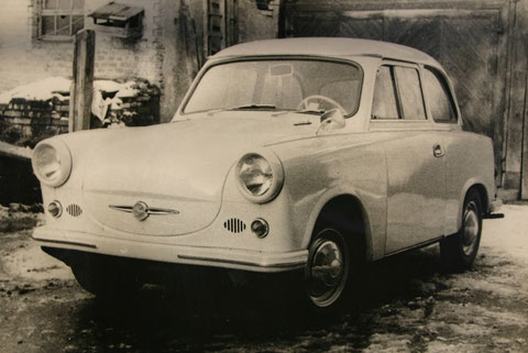 Trabant 500 von Horst Müller - Foto im Besitz von E. Müller