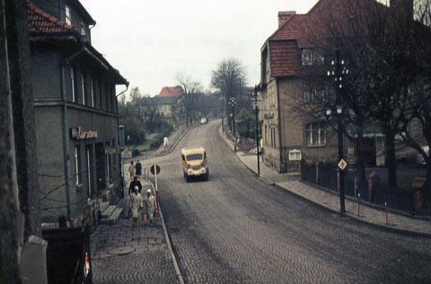 Archiv Gunnar Möller - von Georg Lösser am 03.11.1963 vom Fenster aufgenommen -vom Diapositiv kopiert