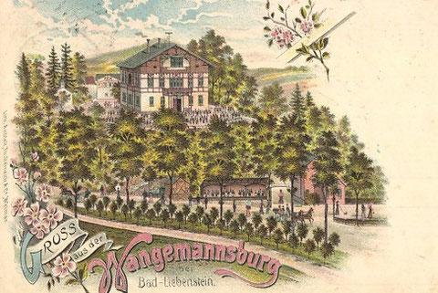 Ansichtskarte gelaufen  1903