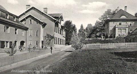 Aufnahme vermutlich vor 1938, da das jetzige Haus von Fritz Lauterbach 1938 gebaut  wurde - Archiv Fritz-Eberhard Reich