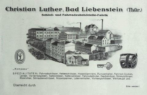 gepostet durch Urenkel Christian Luther