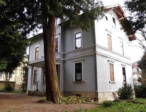 Villa Zocher, ehemals Mühlfeld am 14.04.2015 fotografiert von W.Malek