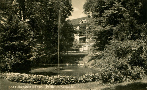 Weiher 60 Jahre später - Archiv W.Malek