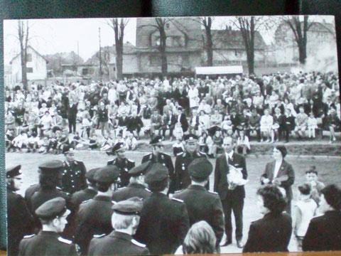 Sportplatz am Elisabethpark 1.Mai 1970er - gepostet im Oktober 2016 am