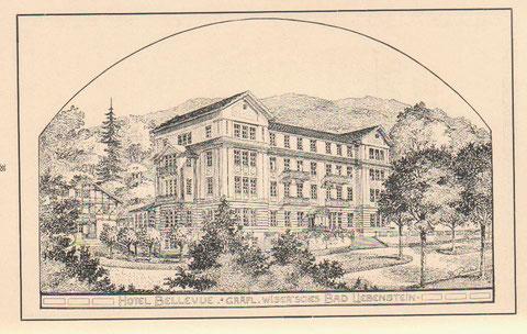 Später wurde dann das gesamte Haus verputzt und das Fachwerk damit dem Blick entzogen - Archiv W.Malek