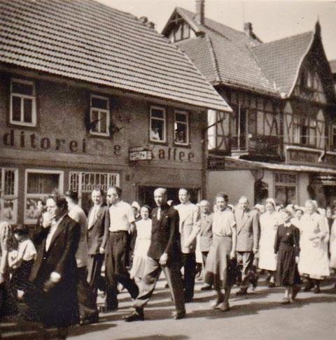 Kommers 100 Jahre Sängerkranz 1957 - Sammlung Gerd Eisenbrandt