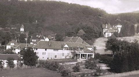 Gebäudekomplex von Westen aufgenommen - Archiv W.Malek